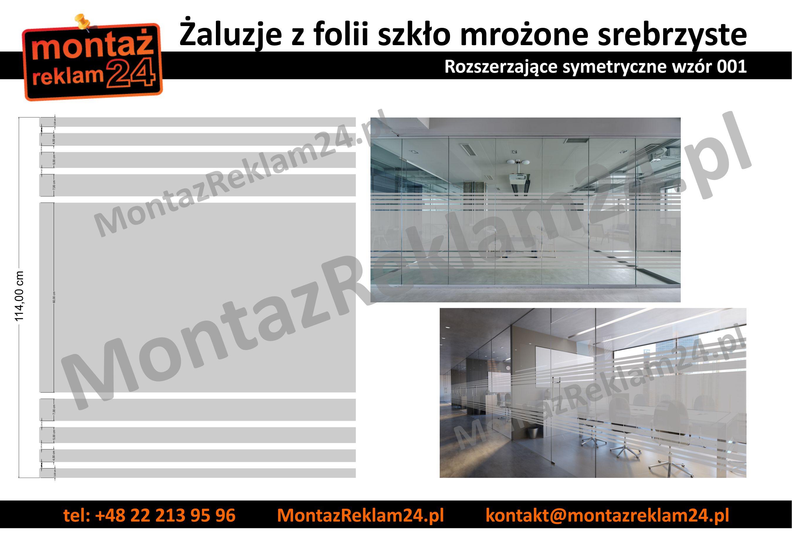 Zaluzje z folii mrozonej rozszerzajace sie - wzor001 - MontazReklam24.jpg