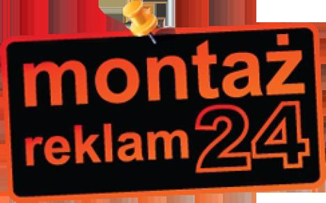 Montaż reklam, banerów reklamowych. Oklejanie okien, witryn Warszawa